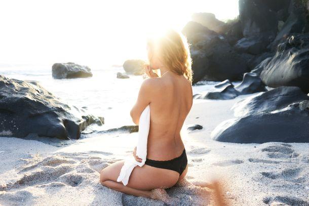 more žena koža beauty odmor