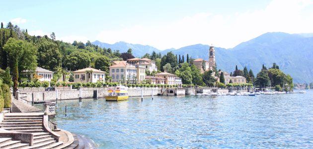 jezero Como Italja