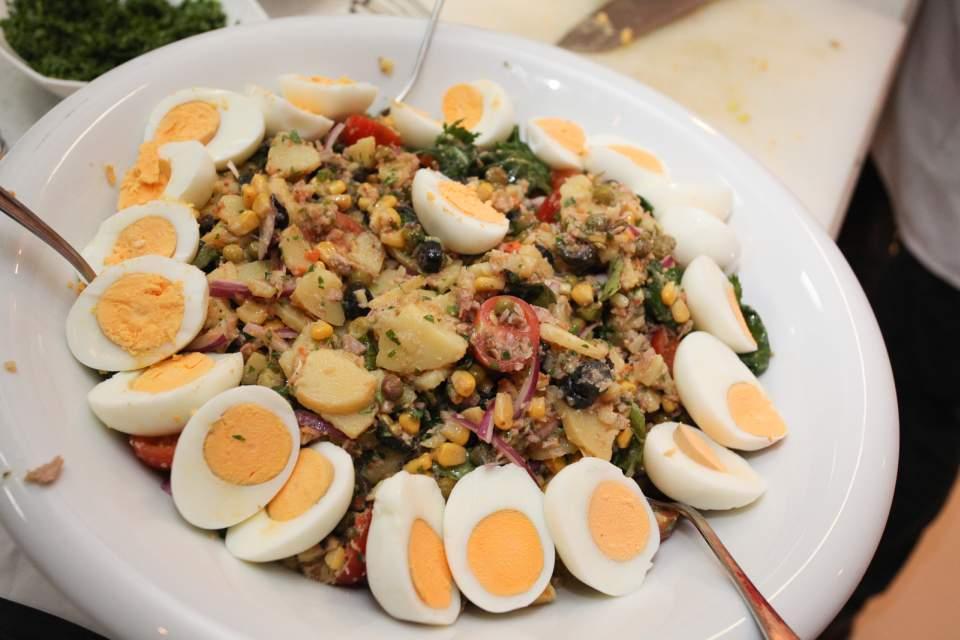 Nicoise salata sa Rio Mare tunom