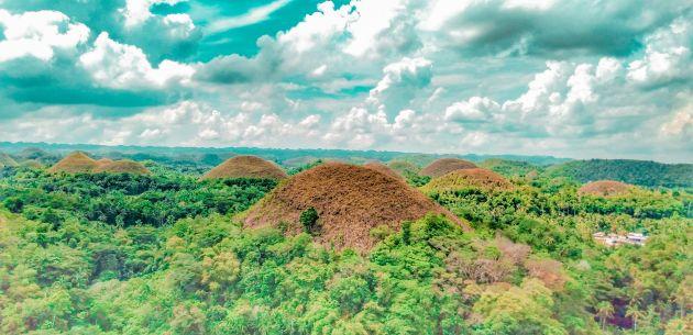 cokoladna brda prirodni fenomen filipini Bohol