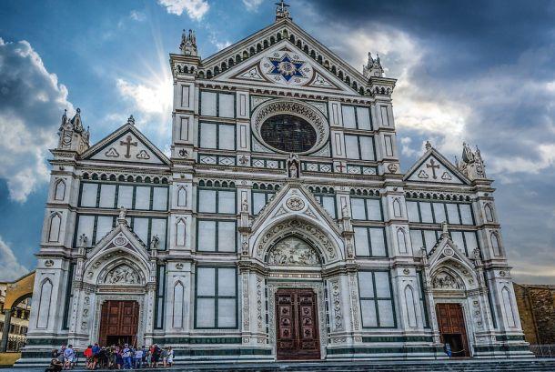santa croce firenza italija