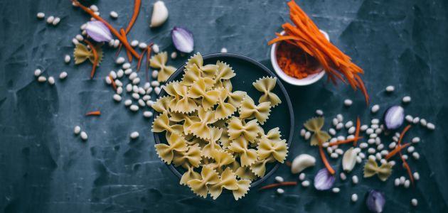 tjestenina hrana mrkva