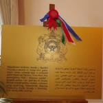 Povelja osnutka vezana za otvaranje Veleposlanstva Kraljevine Maroko u Republici Hrvatskoj 12.travnja 2013.