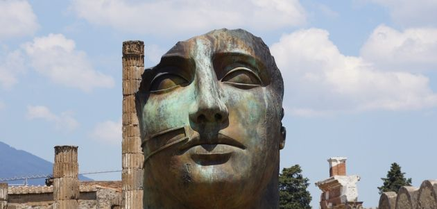 pompeji glava italija