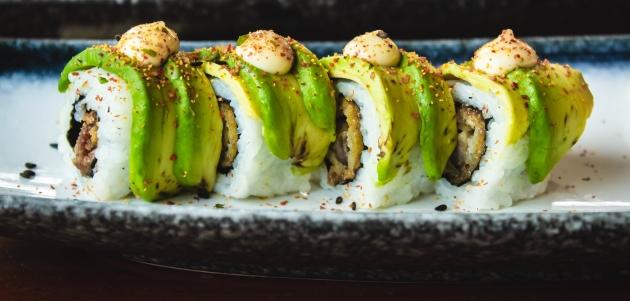 sushi sa sezamom recept