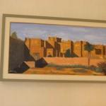 Slika koju potpisuje Njegova Ekscelencija Moulay Abbes El Kadiri