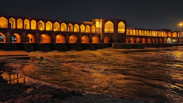 Most Si-o-se Pol Kraljevski most Isfahan Iran