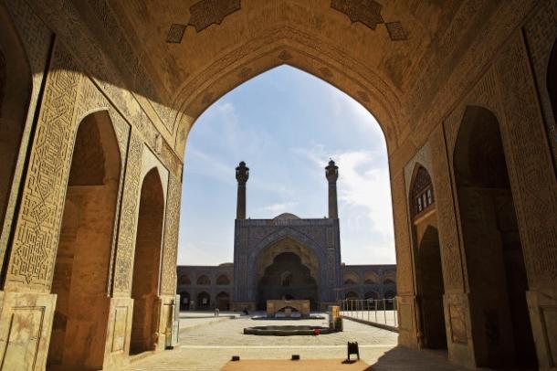 dzamija isfahan iran