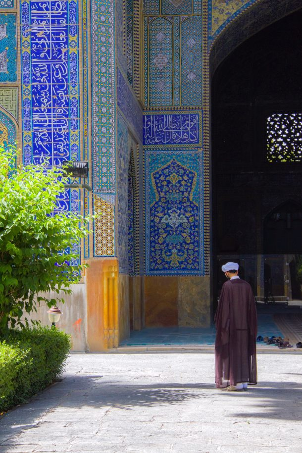 sahov dzamija isfahan iran