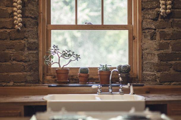 ideje cvijeće interiujer kuhinja
