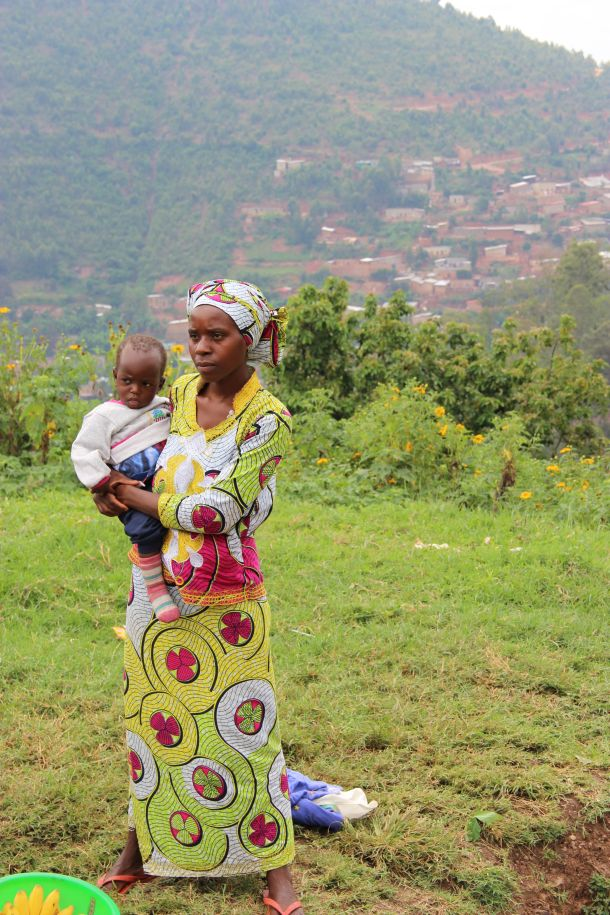 žena i dijete kigali