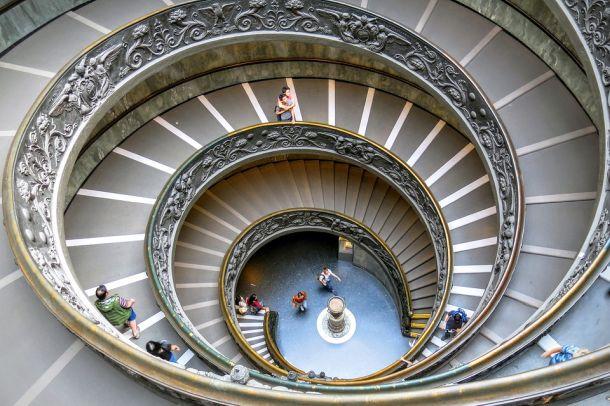 vatikansk muzej stepenice