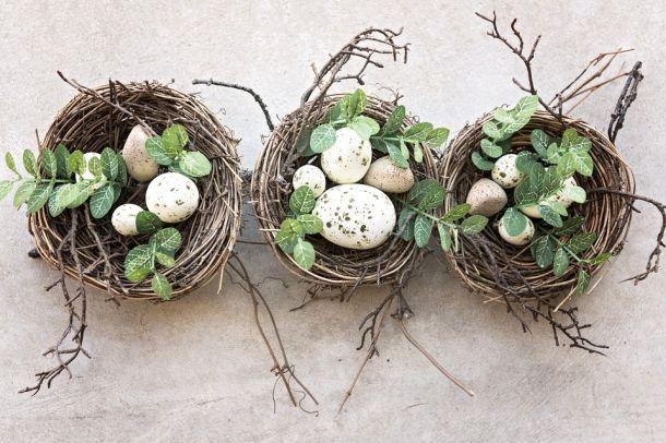 dekoracija jaja uskrs gnijezda