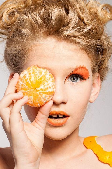mandarina fashion žena zdravlje