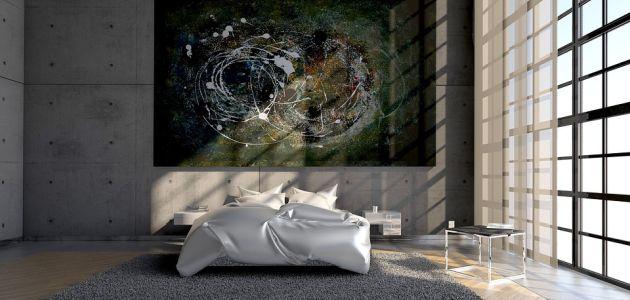 spavaća soba stan kuća interijer
