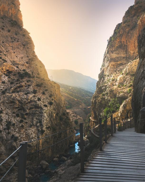 staza za penjanje Caminito del Rey spanjolska