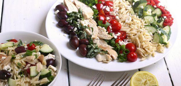 Quick Sunday Recipe: Chicken Orzo Summer Salad