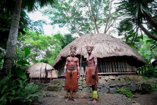 domoroci selo papua