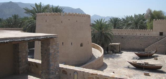 Bajkoviti dvorac Khasab u Omanu