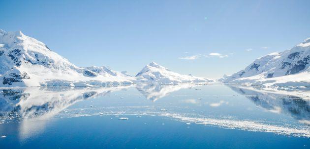 antarktika sante leda