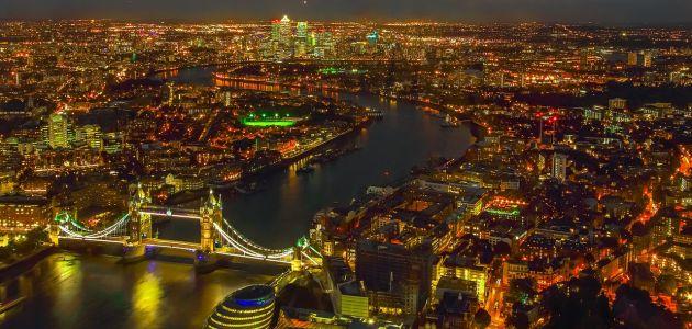 Doček Nove godine u Londonu