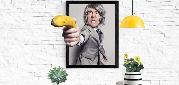interijer soba banana