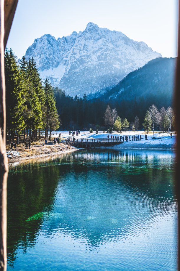 jezero jasna kranjska gora