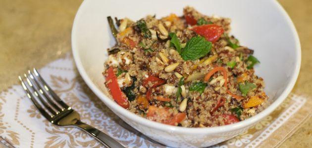 Slasna salata od quinoe i prženog povrća