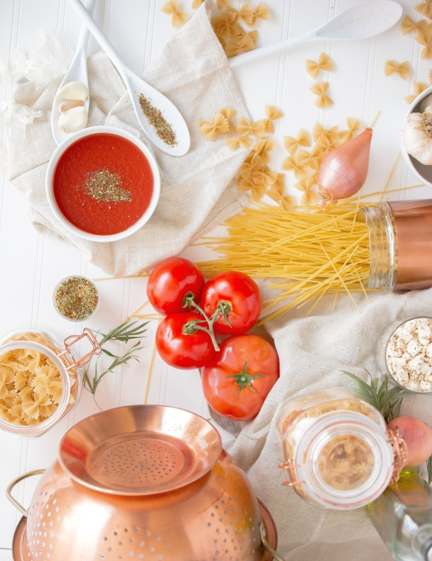 rajcica pomidore paradajz tjestenina spageti hrana