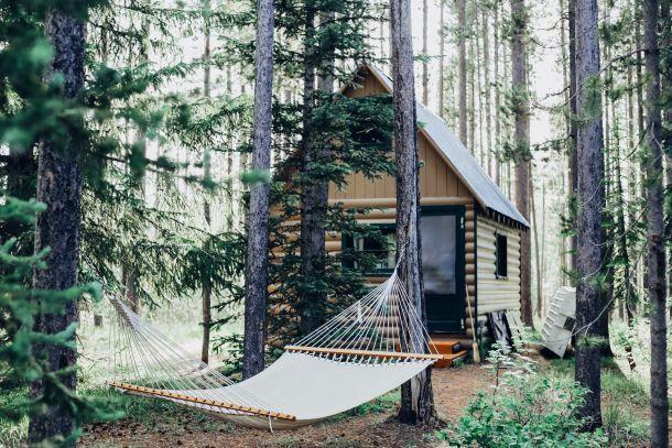 drvena kuća dom priroda