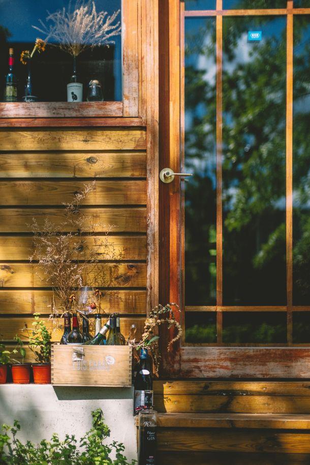 exterijer vino drvena kuća odmor