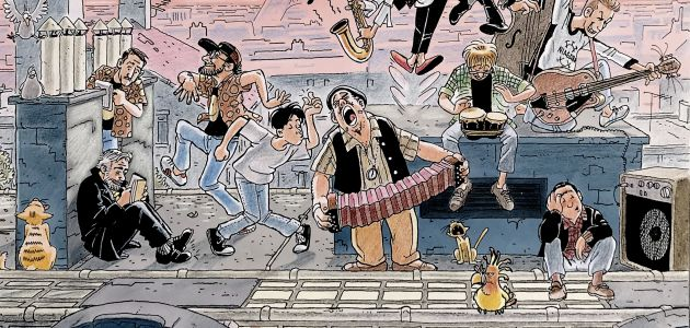 Strip crtač Edvin Eddy Biuković u Klovićevim dvorima