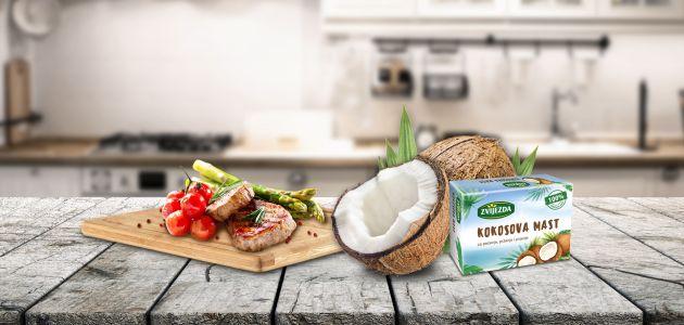Kokosova mast prava je riznica energije