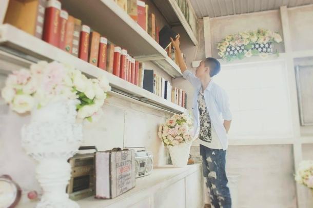 knjiga biblioteka roma