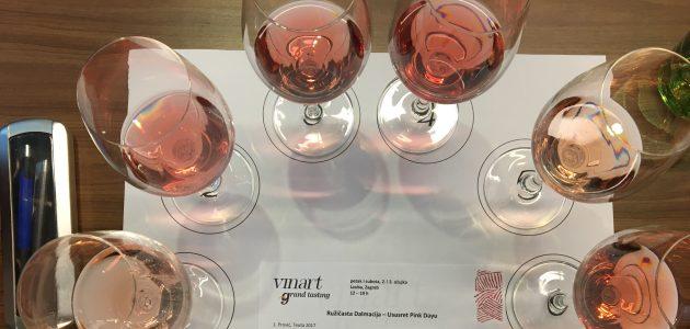 Radionica dalmatinskih roséa inaugurirala Vinart Grand Tasting i najavila Pink Day