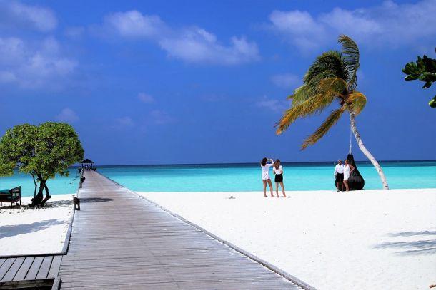 maldivi otočje plaže fotografiranje