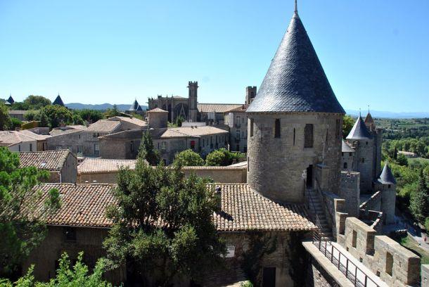 gradić carcassonne dvorac