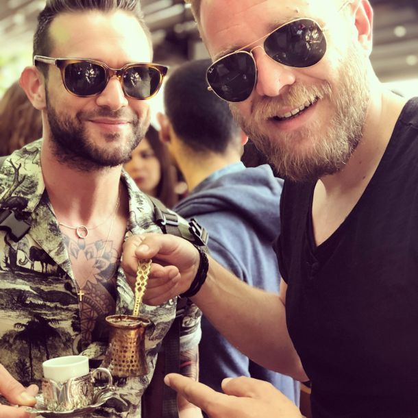 Luka Nižetić i chef Ivo pažanin turska kava