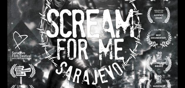 Scream for me Sarajevo u kinima