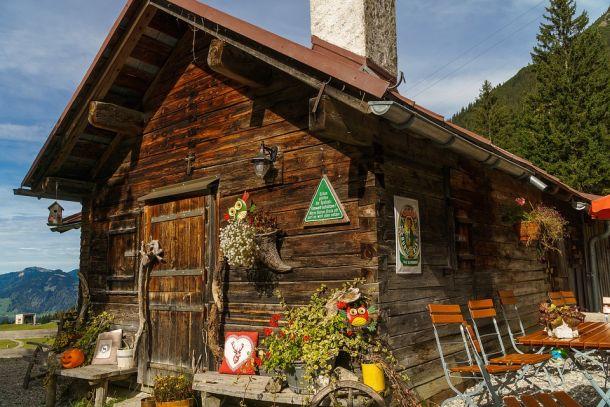 austrija kućica planinarska