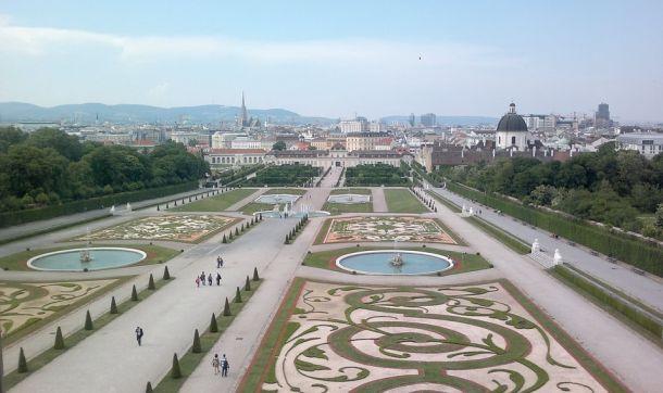 belvedere-castle- Vienna