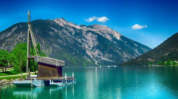 jezero achensee austrija