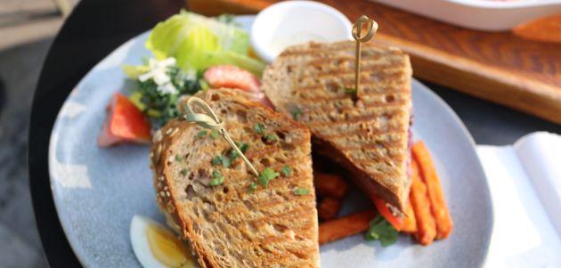 vegan sendvič kruh hrana