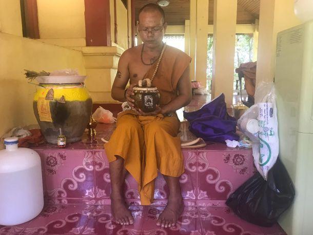 budistički redovnik tajland