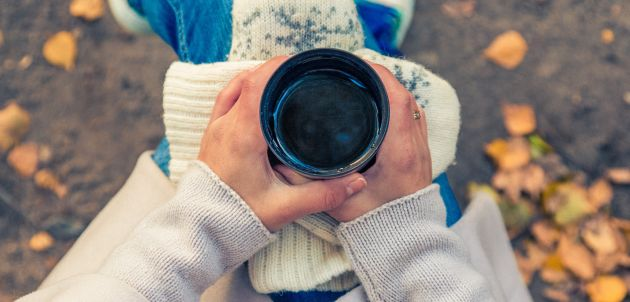 kava napitak zima