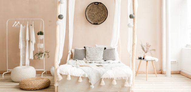 bali soba interijer krevet spavaca soba