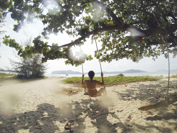 bijele plaže Koh Pangan tajland
