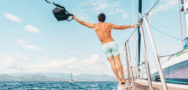 putovanje more ljeto jedrenje