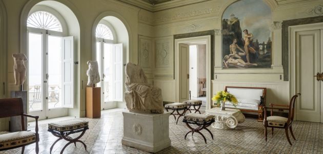Villa Astor na vrhu litice predivnog Sorrenta