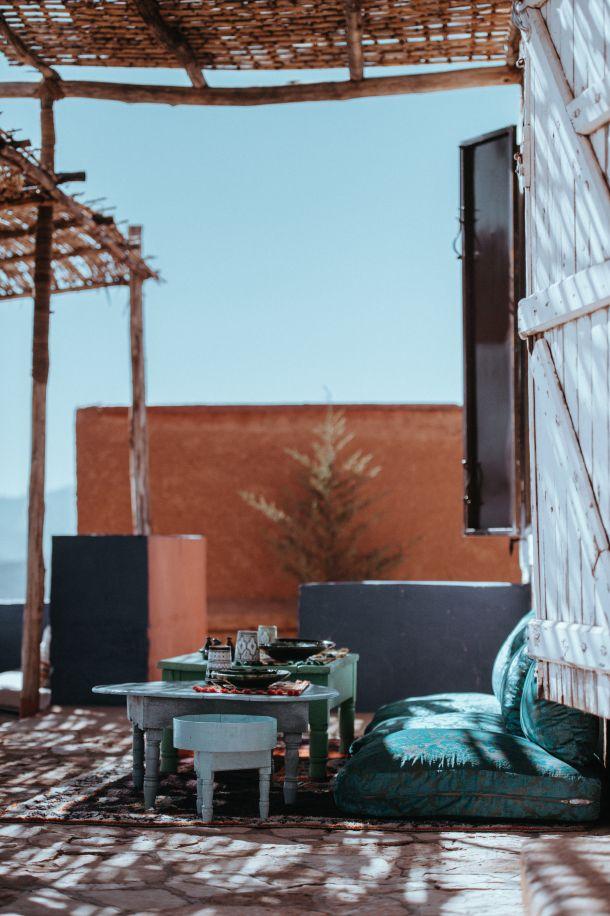 hotel balkon pustinja marakeš putovanje